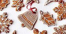 Jul - pepperkaker / Gingerbread cookie decoration