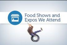 Food Shows and Expos We Attend / From trade shows to conferences, we love to visit different shows with our food clients for new business and networking! Check out some of the shows we will be attending this year.