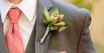 WEDDINGS // best boutonnieres / Our favorite boutonniere and corsages for weddings.