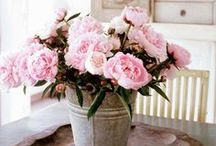 Decor with Flowers ❀ / by Vicky @ hOme
