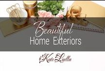 HOME: Beautiful Home Exteriors / Some of The finest house exteriors & facades!  WOW!!!