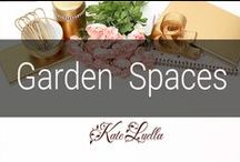 HOME: Garden Spaces, landscaping & Plants