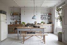 : in the kitchen : / my kitchen needs a freshen up!