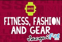 Fitness Fashion and Gear / My favorite workout gear at home or on the road!  / by Jacqui Blazier, www.jacquifit.com