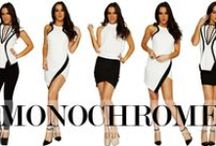 ONE HONEY ❤ MONOCHOME TREND / Shop the MONOCHROME Trend  www.onehoneyboutique.com / by One Honey Boutique