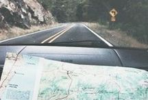 """Road Trips / """"I haven't been everywhere, but it's on my list"""" - Susan Sontag / by MapQuest"""