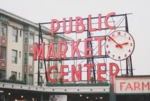 Seattle / Our favorite restaurants, bars, hotels, shops, neighborhoods and things to do in Seattle. / by MapQuest