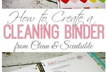Cleaning Binder / by Brita Jan Trimmell