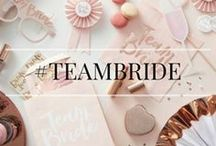 Team Bride / Take a look at our favourite bridal shower ideas this season!