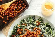 All the plants: Vegan salad recipes / Beautiful vegan salads to nourish body and soul.
