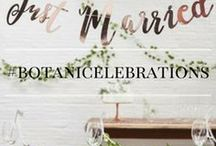 Botanic Celebrations / Check out this board for all our favourite gold and greenery wedding inspiration!