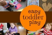 Toddler Activities / Movement, art, music.... learning fun for toddlers. Also follow  http://bit.ly/ReadingBoard   http://bit.ly/ArtActivitiesBoard  http://bit.ly/MathActivitiesBoard  for more great ideas!  / by Jill Riley @ A Mom With A Lesson Plan
