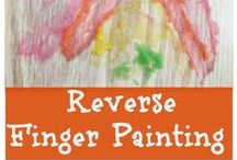 Art Activities for Kids / Easy art activities for kids. (Check out http://bit.ly/FineMotorBoard  http://bit.ly/ReadingBoard  http://bit.ly/PretendPlayBoard  for more easy kid activities!)  / by Jill Riley @ A Mom With A Lesson Plan