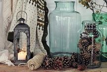 """Home Decor Vignettes / Vignettes are a delightful gathering or grouping of items.  I like to call them """"moments.""""  They might be an artful expression on a tabletop, or a grouping that includes pieces of furniture, artwork, and more.  They are the jewelry in a room."""
