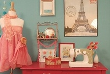 Crafty Spaces / Dreamy craft rooms and studios.