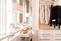 Closet / Closets are now rooms in themselves these days.