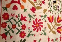 Quilts ~ red & green