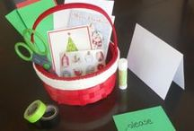 Christmas Crafts for Kids / Inspiring ideas for Christmas crafts the kids can make.   / by Jillian Riley @ A Mom With A Lesson Plan
