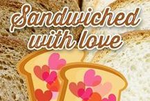 31 Days of Sandwiches / We're celebrating National Sandwich Month with 31 days of #sandwiches throughout the month of August. These delicious #recipes come from employees and consumers like you. Try them now, you're gonna love 'em!