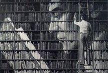 stacks / home libraries