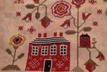 Cross stitch and samplers