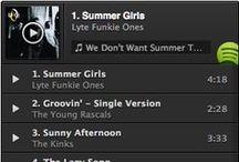 Middle Sister Spotify Playlists