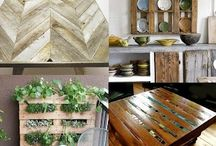 Pallets & Wooden Crates / Crafts out of crates & pallets / by Virginia Hale