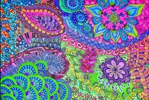 Drawiings/Zentangles & Doodles / Zenzs, Tangles & Drawings / by Banndit1@hotmail.com