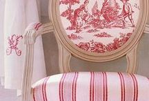 Red & White Decorating Ideas / From furniture to plates... red and white makes my heart sing all year long.
