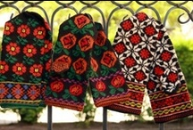 Latvian/Eastern European mittens