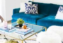 the emerald deli / Single girl-on-a-budget apartment inspiration!
