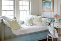 Beautiful Bedrooms for Dreaming / Beautiful bedrooms or sleeping rooms are the inspiration of sweet dreams. Enjoy the eclectic mix of styles... traditional, cozy farmhouse, French country, sophisticated contemporary, rustic, romantic, and coastal decor.