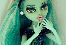 Dolls / Ooak dolls. Monster high, Mattel. Custom, face up.