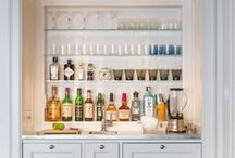 bar / home bars -- how to keep them beautiful and fully stocked