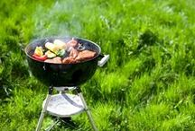 Best Backyard BBQ / Summertime is the best time to roast some corn, fire up the grill, make s'mores and enjoy the company of friends & family next to a sizzling fire with a cool drink in one hand.
