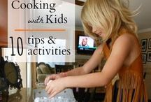 Food & Cooking Ideas For Kids / Have fun cooking and eating with with your kids! / by Jillian Riley @ A Mom With A Lesson Plan