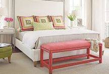 Coral Home Decor / Coral!  I discovered it's one of my favorite colors... but I have yet to use it in my home decor.  Hopefully, pinning lovely and inspiring decorating ideas will be just the nudge I need to take the plunge.