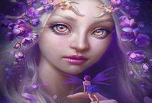 Fantasy-Elves, Faeries, Gnomes & Fairies / Fantasy, Magical, Mystical & Mythical / by Banndit1@hotmail.com