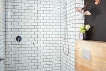 Retro Industrial Bathroom / ideas for retro and industrial bathroom designs