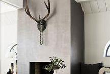 retro industrial living room