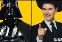 Feel the Force, Darlins! / How #StarWars mirrors #Dallas