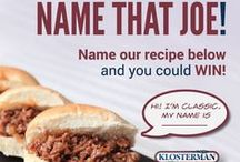Sloppy Joe Day with Klosterman! / We're celebrating Sloppy Joe Day on March 18 by playing Name That Joe! Name our sloppy joe recipes and you could WIN Klosterman Bread.