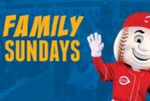 Take Me Out to the Ballgame! / Grab the family and head to a Cincinnati Reds game with Klosterman Bread! Learn more about our Family Sundays deal here.