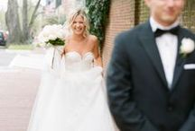 The First Look / The first look of a wedding day: something just for you and your love.