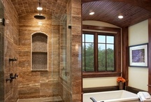 Bathrooms & Laundry Rooms / by Alicia