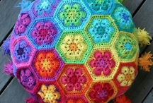 Crochet Flowers / Look at Granny Squares as well...
