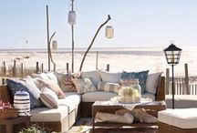 Living at the Beach / Inspiration for a small hide out down by the Sea!