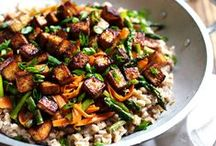recipes - tofu / vegetarian recipes featuring tofu (but it's got to be Central Soyfoods from Lawrence, KS!)