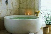 Bathroom Bliss / Ideas for our Spa Bathroom