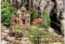Gardening ✿ Fairy Gardens ✿ Houses / I Believe in Fairies... Yes I do, I do... (Peter Pan) And I am always amazed by Miniatures, so why not Miniature Gardening! :0)